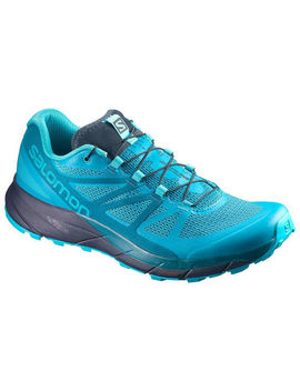 Salomon Women's Sense Ride Trail Running Shoes, Bluebird by Eastern Mountain Sports