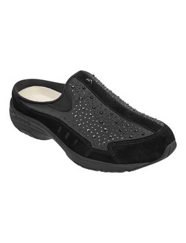 Traveltime Clogs Limited Edition   Black Satin by Easy Spirit