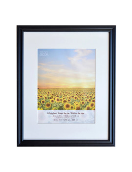 black-large-frame-with-mat,-lifestyles-by-studio-décor by studio-decor
