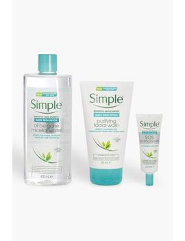 Simple Daily Skin Detox Bundle by Boohoo