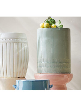 Sage Ceramic Side Table by Pottery Barn