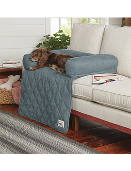 Grip Tight® Bolstered Sofa Protector by Orvis