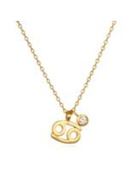 The Astro Twins Cancer Zodiac Necklace by Satya