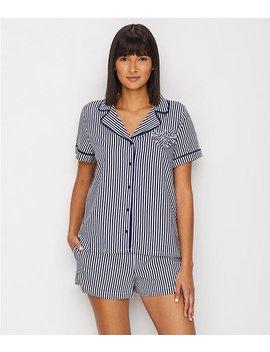 Stripe Woven Pajama Set by Kate Spade New York