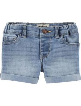 Denim Shorts   Sky Blue Wash by Oshkosh