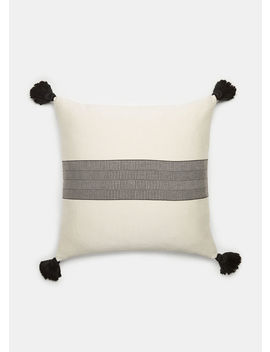 Bar Stripe Pillow by Vince