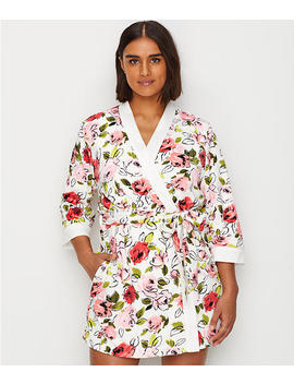 Floral Terry Robe by Kate Spade New York