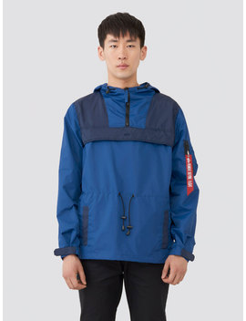 Color Blocked Anorak by Alpha Industries