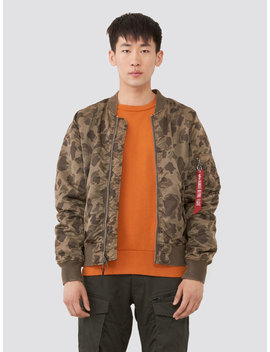 L 2 B Blood Chit Battlewash Flight Jacket by Alpha Industries