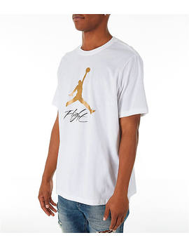 Men's Jordan Jumpman Flight Hbr T Shirt by Nike
