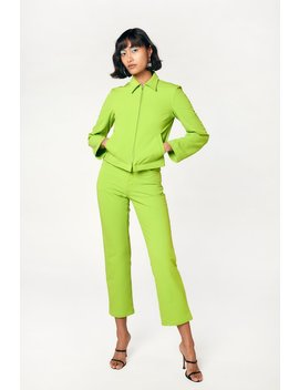 Kira Jacket   Acid Green by Miaou