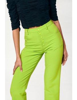 Junior Pants   Acid Lime by Miaou