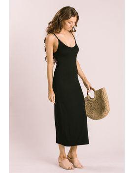 Jacqueline Black Maxi Dress by Morning Lavender