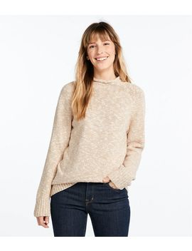 Cotton Ragg Sweater, Funnelneck Pullover by L.L.Bean