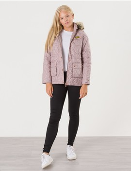Barbour Barnkläder   Enduro Quilt Jacket   Rosa. by Barbour