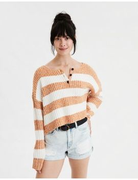 ae-henley-boxy-cropped--sweater by american-eagle-outfitters