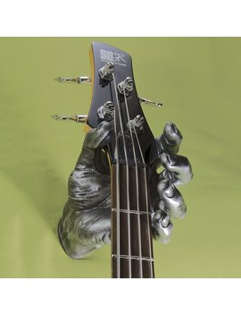 Guitar Grip Pewter Antique Hand Guitar Hanger by Guitar Grip
