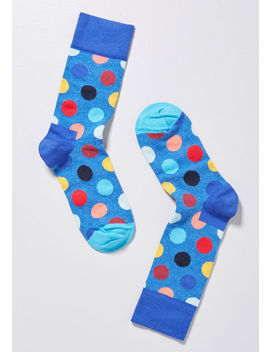 Bright Delight Polka Dot Socks by Happy Socks