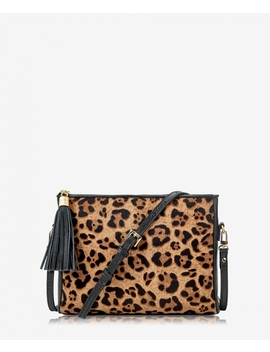 Hailey Crossbody by Leopard Haircalf