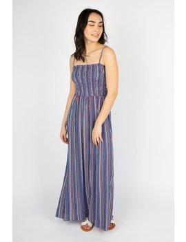 Womens Smocked Maxi Dress by Bluenotes