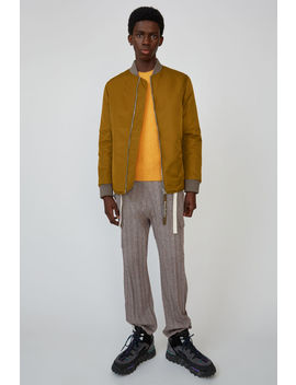 Nylon Jacke Oil Yellow by Acne Studios