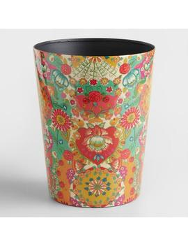 Bettina Floral Trash Can by World Market