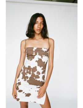 Lotte Dress   Cow Print by Miaou
