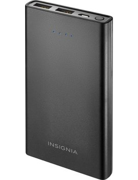 8,000 M Ah Portable Charger For Most Usb Enabled Devices   Black by Insignia™