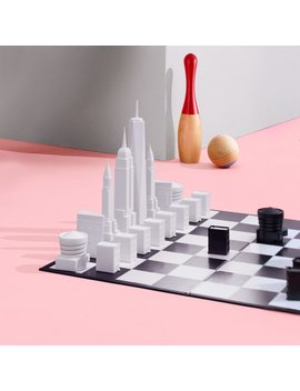 New York Skyline Chess Set by Skyline Chess