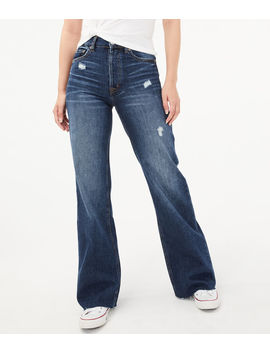 Real Denim High Rise Wide Leg Jeans by Aeropostale