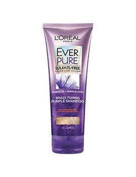 Brass Toning Purple Sulfate Free Shampoo by L'oréal Paris