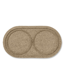 Recycled Water Trapper® Bowl Holder Mat by Orvis