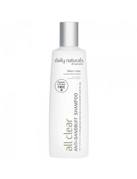 Anti Dandruff All Clear Shampoo 250 M L by Daily Naturals