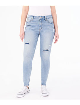 Real Denim High Rise Slim &Amp; Thick Curvy Jegging by Aeropostale