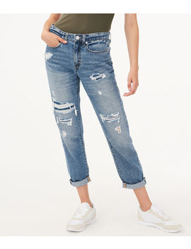 Real Denim Low Rise Boyfriend Ankle Jean by Aeropostale