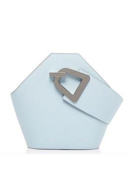 Mini Johnny Bucket Bag In Light Blue by Fivestory