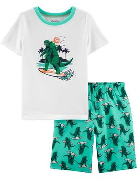 2 Piece Dinosaur P Js by Oshkosh