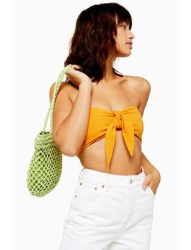 Bandeau Top With Linen by Topshop