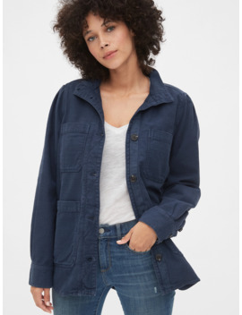 Slub Utility Jacket by Gap
