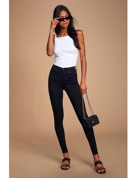 Mile High Black Super Skinny Jeans by Levi's