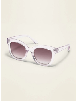 Thick Frame Square Sunglasses For Women by Old Navy