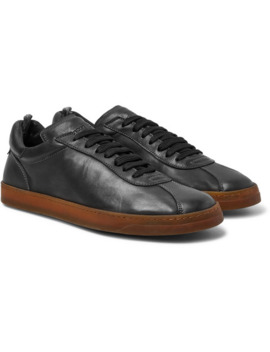 Karma Washed Leather Sneakers by Officine Creative