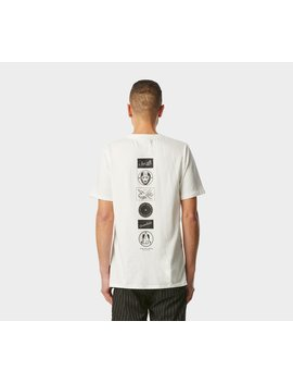Vintage Logos Tee   Winter White by I Love Ugly
