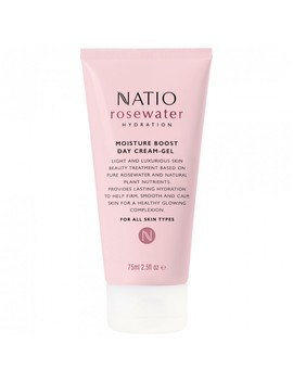Rosewater Hydration Moisture Boost Day Cream Gel 75 M L by Natio