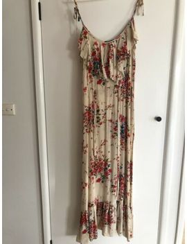 Mimosa Silk Floral Dress Size 10 by Mimosa
