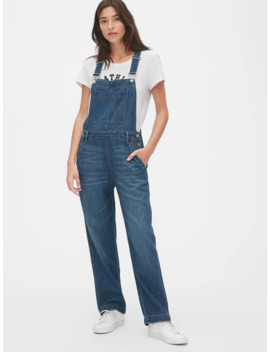 Wide Leg Overalls by Gap