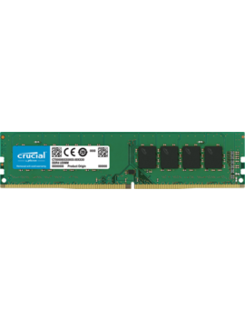 Crucial 16 Gb Ddr4 2666 M Hz Pc4 21300 288pin Cl19 Dimm Desktop Memory Ram 1.2 V by Crucial