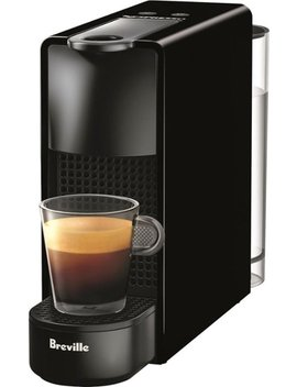 Essenza Mini Espresso Machine By Breville   Piano Black by Nespresso