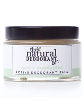 Natural Deodorant Co Active Deodorant Balm   Mint & Eucalyptus   55g by Ethical Superstore