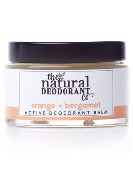 Natural Deodorant Co Active Deodorant Balm   Orange & Bergamot   55g by Ethical Superstore